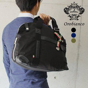 オロビアンコ ボストンバッグ Orobianco NOTTAMBULA M-C 全3カラー ナイロン/レザー メンズ 男性 レザー|treasureland