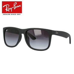 レイバン サングラス Ray-Ban ジャスティン JUSTIN RB4165F 622/8G 54 マットブラックラバー アジアンフィット RAYBAN 国内正規品 メンズ レディース