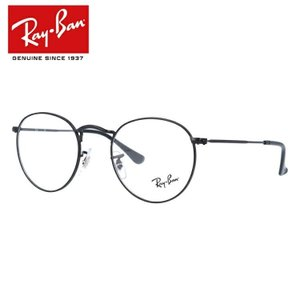 レイバン 伊達メガネ メガネ 眼鏡 Ray-Ban RX3447V 2503 47 Round Metal ブラック ラウンド ラウンドメタル 国内正規品 RB3447V