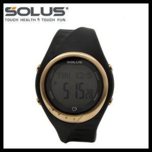 ソーラス 腕時計 防水 SOLUS 01-300-01 ブラック 黒 メンズ レディース スポーツ ダイエット エクサ サイズ 国内正規品 treasureland