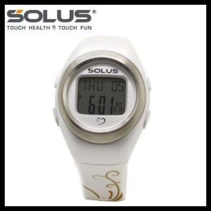 ソーラス 腕時計 防水 SOLUS 01-800-04 パールホワイト メンズ レディース スポーツ ダイエット エクサ サイズ 国内正規品 treasureland