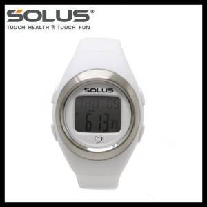 ソーラス 腕時計 防水 SOLUS 01-800-202 ホワイト 無地 メンズ レディース スポーツ ダイエット エクサ サイズ 国内正規品 treasureland