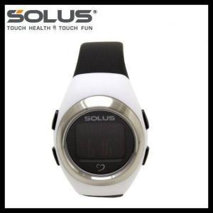ソーラス 腕時計 防水 SOLUS 01-800-205 ホワイト ブラック 黒 メンズ レディース スポーツ ダイエット エクサ サイズ 国内正規品 treasureland