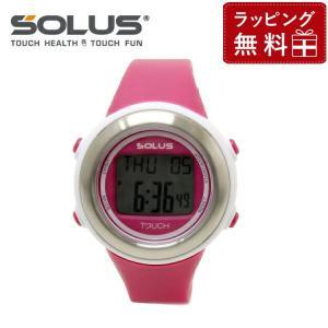ソーラス 腕時計 防水 SOLUS 01-850-004 ピンク メンズ レディース スポーツ ダイエット エクサ サイズ 国内正規品 treasureland