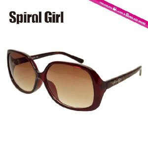 スパイラルガール サングラス SPIRAL GIRL SPS6010-3 レディース 女性 紫外線 UV カット|treasureland