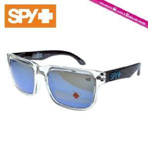 スパイ サングラス SPY HELM ヘルム KEN BLOCK SIGNATURE Splatter/Grey With Blue Spectra シグネチャー メンズ メンズ レディース|treasureland