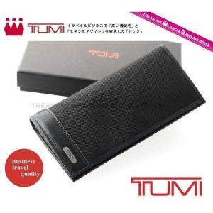 トゥミ TUMI 長 財布 ブランド 財布 サイフ ブラック 黒 96-1403/01 Tumi treasureland