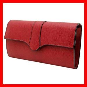 並行輸入 財布 ウォレット ヴァレクストラ Valextra レッド 赤 ソフト カーフ レディース V9U14 RD SV 028000R RD treasureland