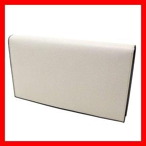 並行輸入 財布 ウォレット ヴァレクストラ Valextra ホワイト 白 ソフト カーフ メンズ レディース V8L68 WH 044000W|treasureland