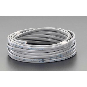 エスコ ESCO 300V/19A/20m ビニールキャブタイヤ ケーブル(3芯/黒) EA940AG-26|treasuretown