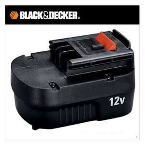 ブラック&デッカー B&D 12Vスライド式バッテリーパック  充電池 A12|treasuretown