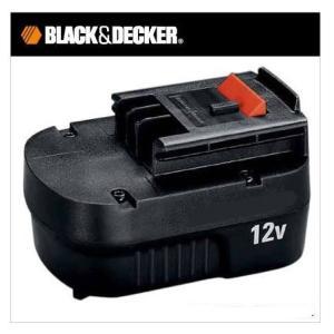 ブラック&デッカー B&D 高容量 スライド式 バッテリーパック A12EX|treasuretown