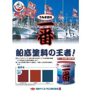 日本ペイント 船底塗料 うなぎ塗料 一番 2kg缶 レッド (FRP船船底部 防汚塗料/船底塗料) 代引不可|treasuretown|02