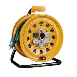 ハタヤ  温度センサー付コードリール 単相100V 30M BG-301KXS  屋内用延長コードリール|treasuretown