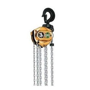 象印 手動チェーンブロック ホイストマン 小型軽量チェーンブロック トルコン機能付チェーンブロック 3t HM3-03030 HM3-300 treasuretown