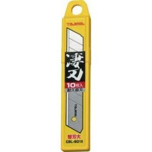 タジマ カッターナイフ 替刃大 凄刃銀 CBL-SG10