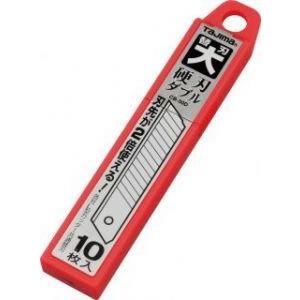 タジマ カッターナイフ 替刃大 硬刃ダブル L型カッター用 CB-50D