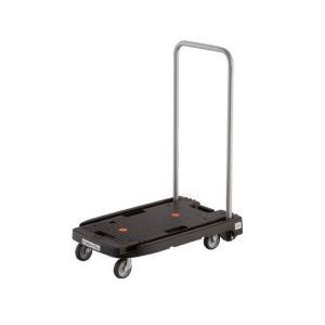 トラスコ 小型樹脂製運搬車 こまわり君 省音タイプ 600X390 ブラック 356-5769 MP6039NBKの商品画像