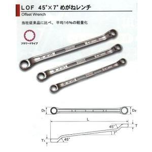 旭金属工業 アサヒ ASAHI ライツール両口めがね 14×17LOF1417|treasuretown