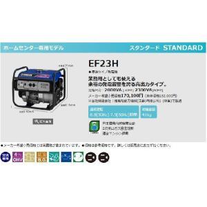 ヤマハ YAMAHA スタンダード 発電機 60Hz EF-23H|treasuretown|02