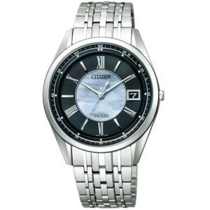 シチズン CITIZEN EXCEED エクシード 腕時計 メンズ AS7080-54E エコ・ドライブ 電波時計 チタン|treasuretown