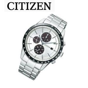シチズン CITIZEN ソーラー 腕時計 メンズ クロノグラフ CA0454-56A|treasuretown