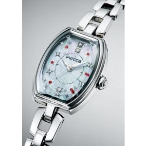 シチズン CITIZEN  wicca ウィッカ 腕時計 レディース KF3-010-93 ソーラーテック|treasuretown