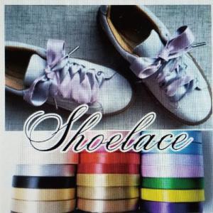 サテンリボン 靴ひも ハンドメイド アクセサリーパーツ シューレース 靴紐 treetop-shoes