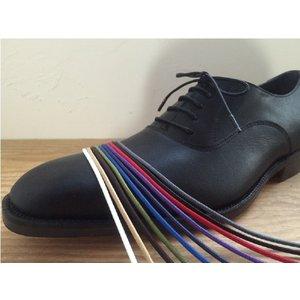靴ひも 金属セル アクリル丸紐2.5mm(60cm/70cm...