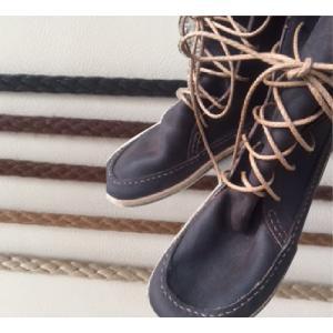 石目編 丸紐 金属セル 3.5mm(160cm/170cm/180cm/190cm/200cm) 靴ひも|treetop-shoes