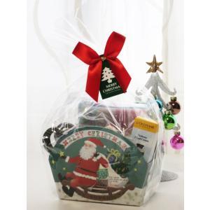 ロクシタンギフト  プレゼント クリスマス サンタボックスセット ハンドクリーム ハンドタオル L'OCCITANE