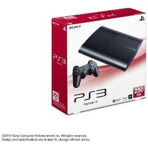 PS3 プレイステーション3 250GB CECH-4000B チャコール・ブラック(わけあり)(5091608AW)
