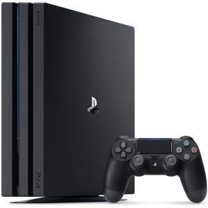PlayStation 4 Pro ジェット・ブラック 1TB (CUH-7200BB01)(新価格版)(HDMIケーブル なし)(5093830AW4)|treizes