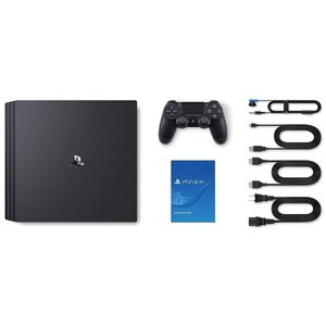 PlayStation 4 Pro ジェット・ブラック 2TB (CUH-7200CB01)(5093852A) キャッシュレス5%還元|treizes|02