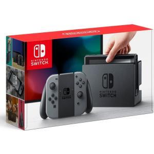 Nintendo Switch Joy-Con (L) / (R) グレー(5096001A) キャッシュレス5%還元 treizes