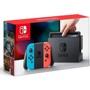 Nintendo Switch Joy-Con (L) ネオンブルー/ (R) ネオンレッド(5096002A) キャッシュレス5%還元 treizes