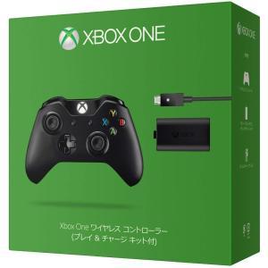 Xbox One ワイヤレス コントローラー (プレイ & チャージ キット付)(わけあり)(519...