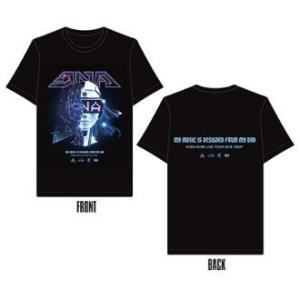 倖田來未 Koda Kumi Live Tour 2018 〜DNA〜 TEE/Tシャツ(XL) (ANKK-2528) キャッシュレス5%還元|treizes
