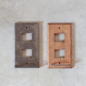 スイッチプレート ハンガーバー 木製 アイアン インテリア tremolo