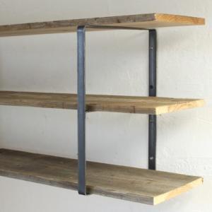 シェルフ ブラケット アイアン  iron wall shelf support M tremolo