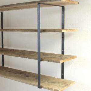 シェルフ ブラケット アイアン iron wall shelf support L tremolo