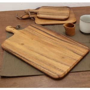 【OUTLET】アカシア カッティングボード L ACACIA WOOD NTカーブ|tremolo