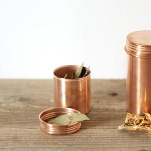 キャニスター 銅製 COPPER S|tremolo