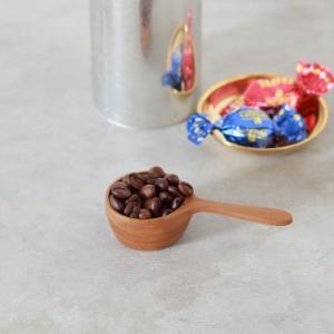 コーヒー スクープ チークウッド TEAK WOOD|tremolo
