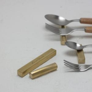 カトラリーレスト BRASS 真鍮 L 各種 インテリア|tremolo