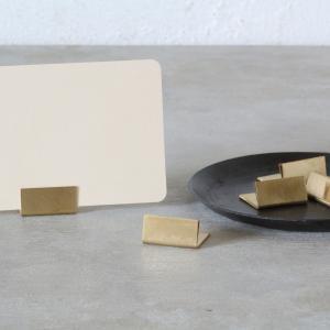 カードスタンド カードホルダー ブラス 単品 tremolo