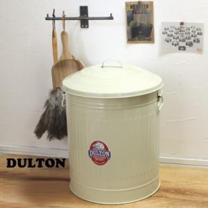 トラッシュカン ゴミ箱ダストボックス18L 缶 アイボリー M|tremolo