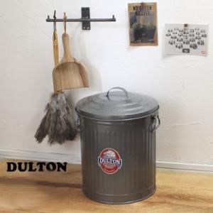 トラッシュカン ゴミ箱 ダストボックス12L 缶 グレイS|tremolo