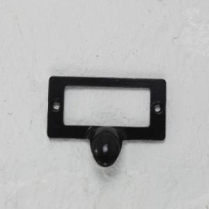 ネームプレート 取っ手 金具(6cm)■5432 インテリア|tremolo