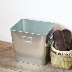 ゴミ箱  トタン 日本製|tremolo